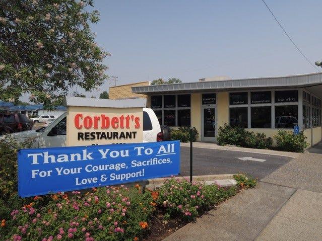 Corbett's Restaurant on Pine Street in downtown Redding opened in 1982.
