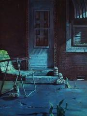 Jason Cytacki, The High Life, 2017, oil on canvas. Copyright Jason Cytacki.