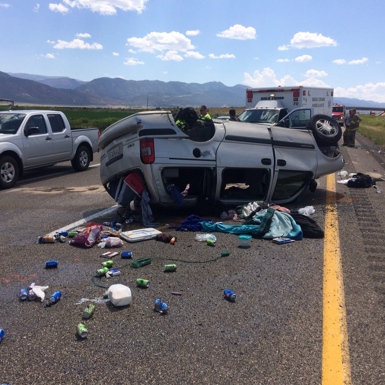 Authorities: 8-year-old boy killed in van crash near Parowan