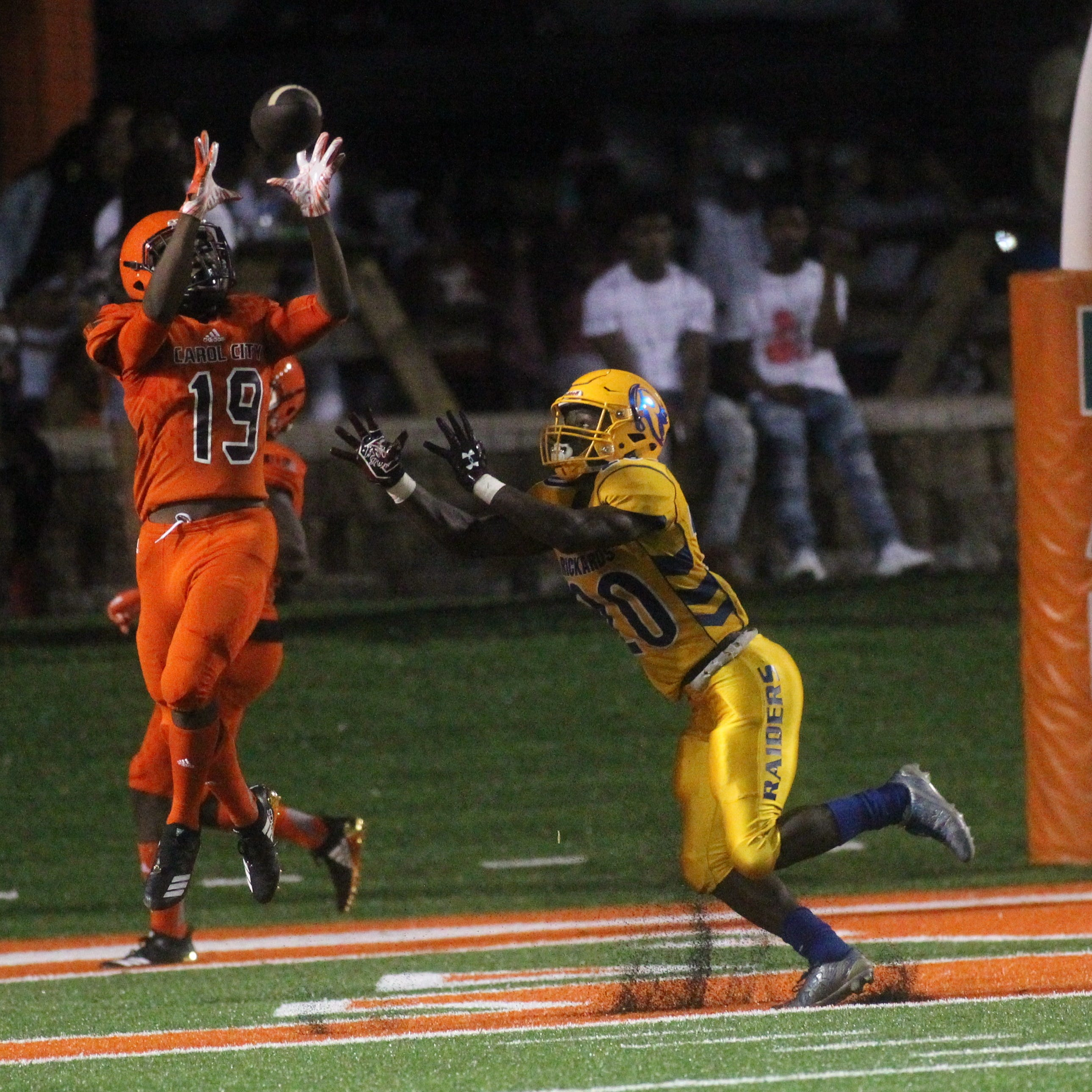 Rickards coach Quintin Lewis upbeat after humbling Carol City shutout | Miller