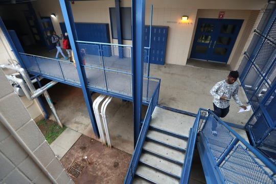 Rickards High School will be demolishing five of the buildings that make up the school's complex. As they rebuild new facilities, students and faculty will be rotated into existing computer labs and combined classrooms.