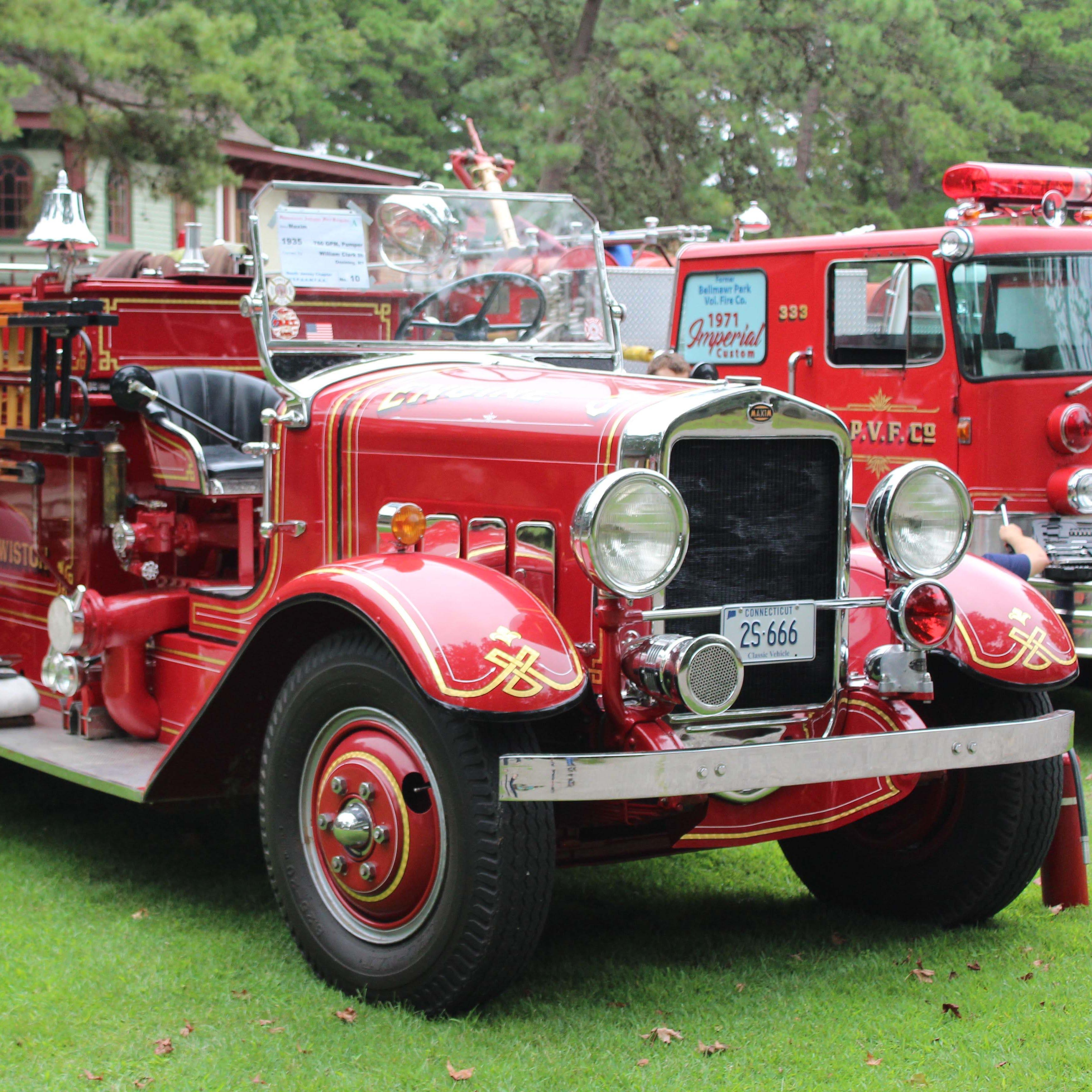 PHOTOS: Antique Fire Brigade at Wheaton Arts in Millville