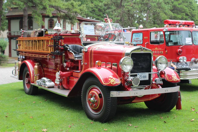 A 1935 Maxim, 750 GPM Pumper owned by William Clark III of Ossining, NY.