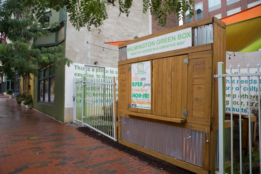 The Wilmington Green Box at 420 N. Market St. in Wilmington.