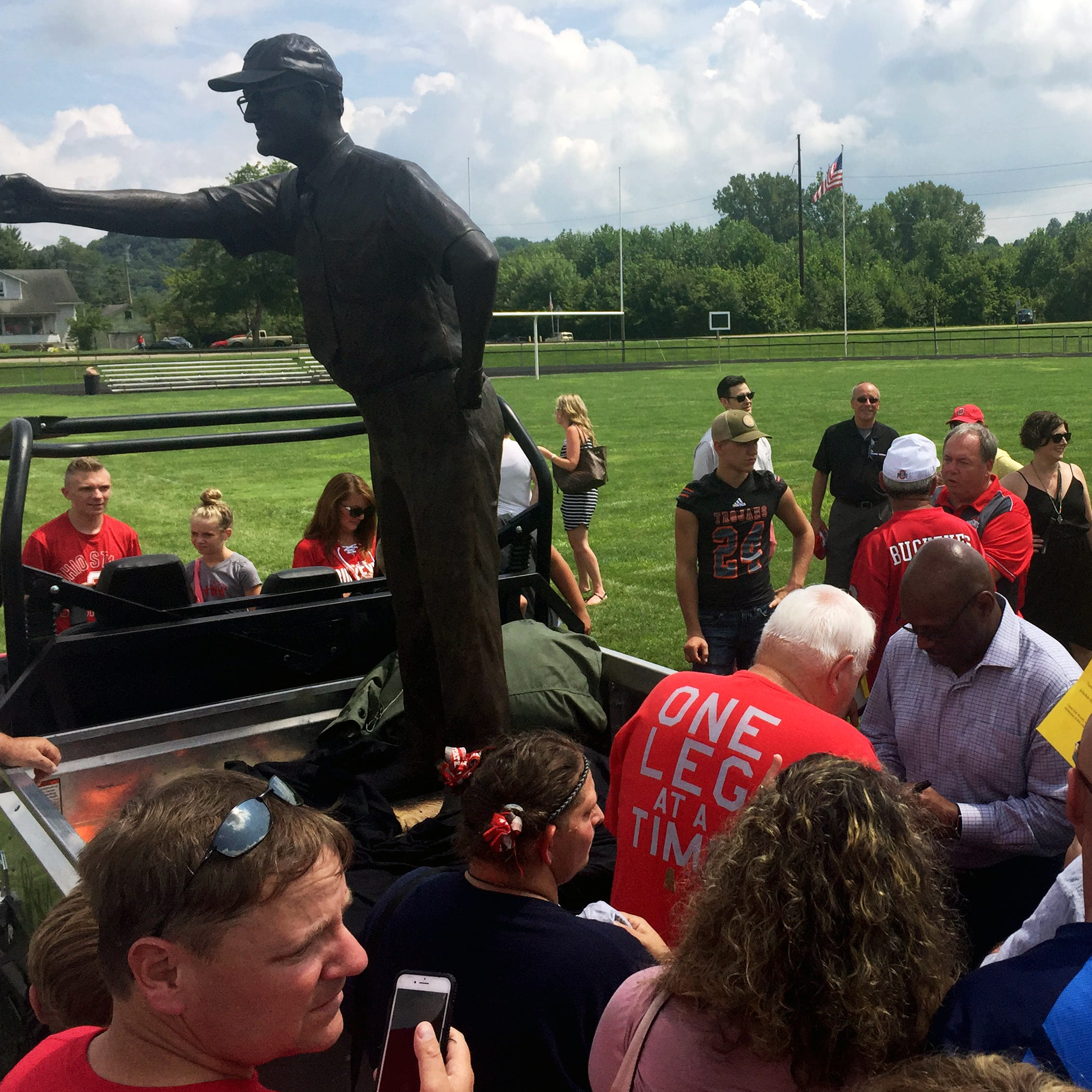 Woody Hayes goes home again