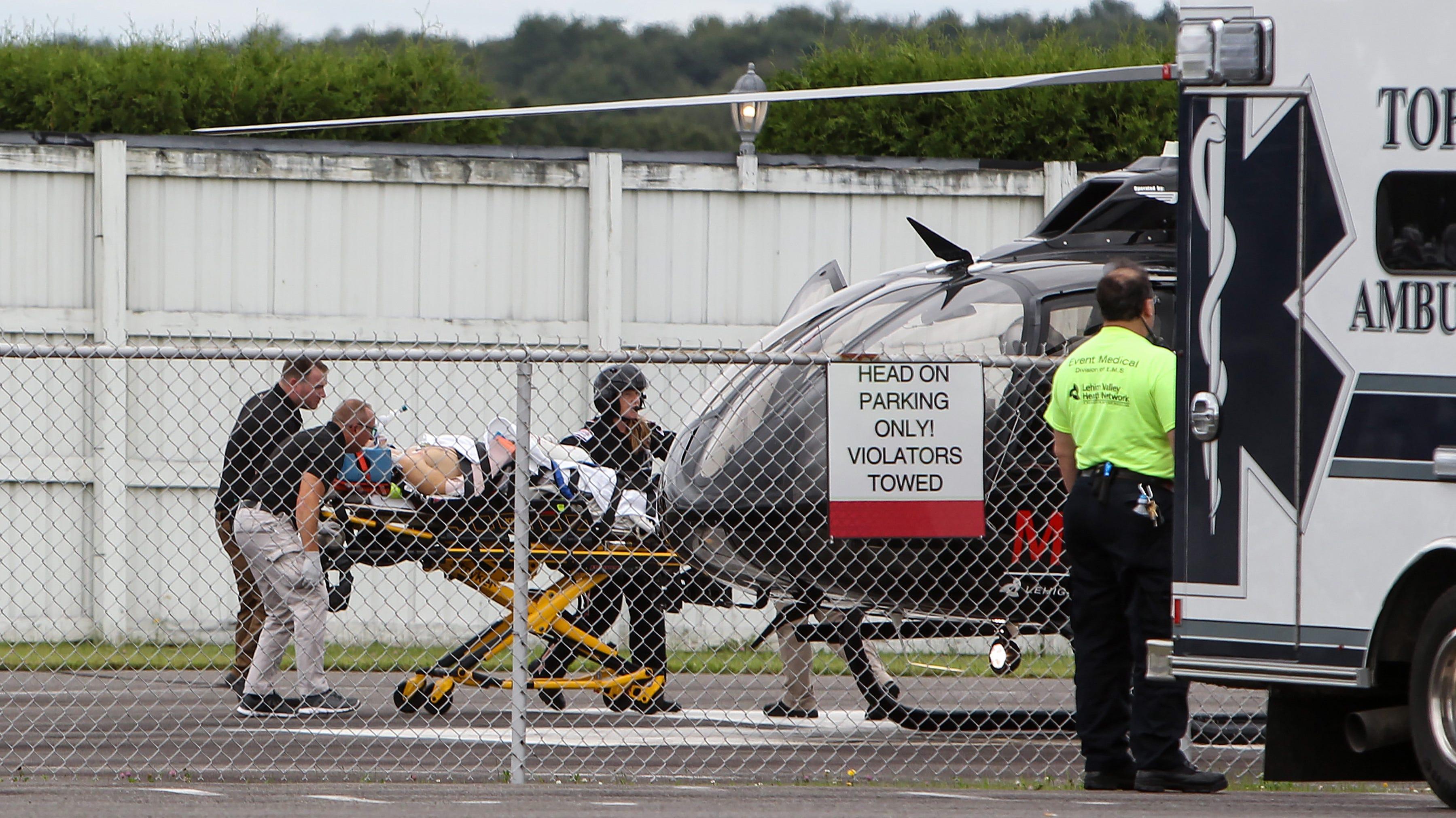 Robert Wickens' violent IndyCar crash casts cloud over Alexander Rossi's win at Pocono