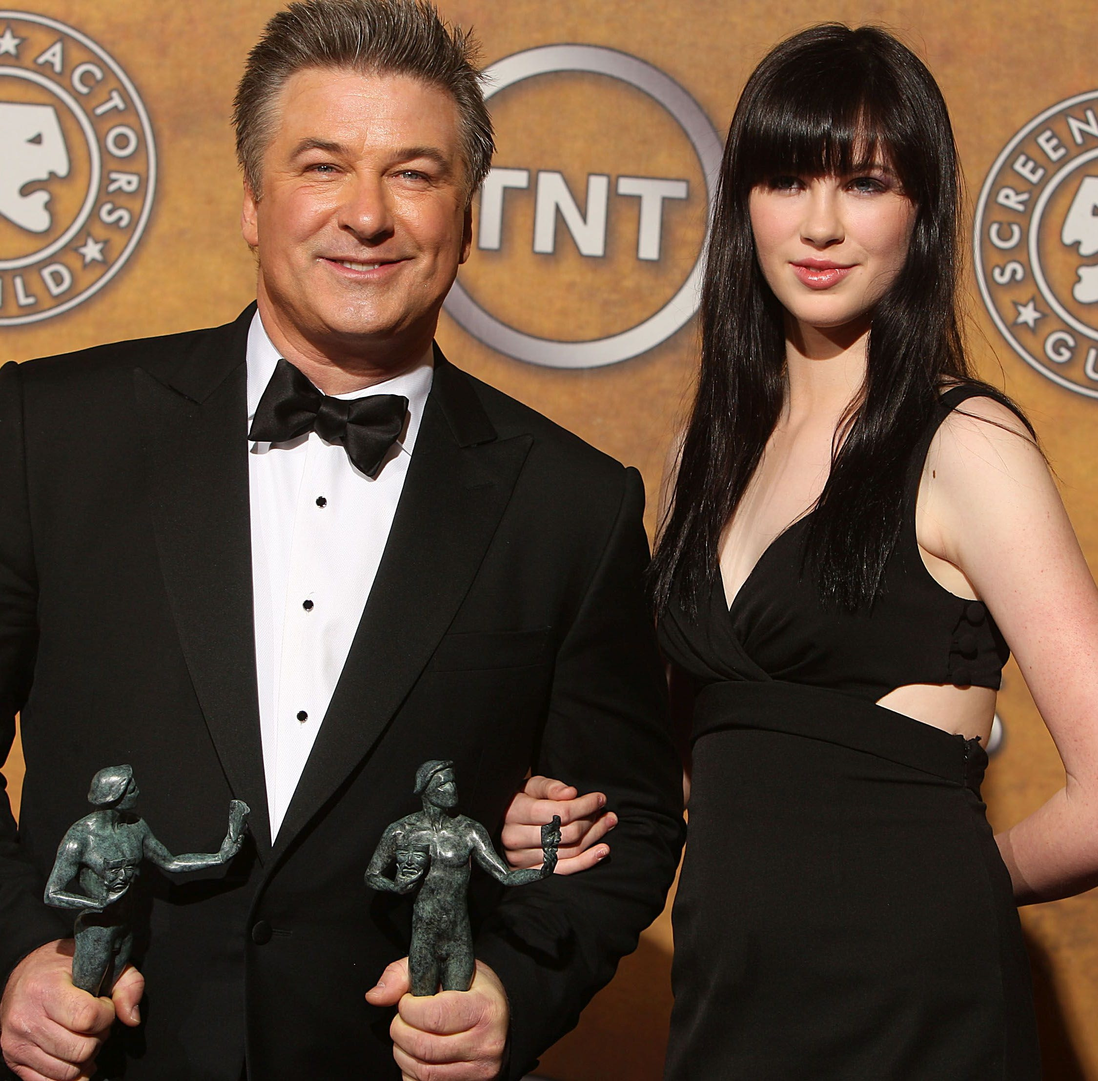 Actor Alec Baldwin and his daughter, Ireland.