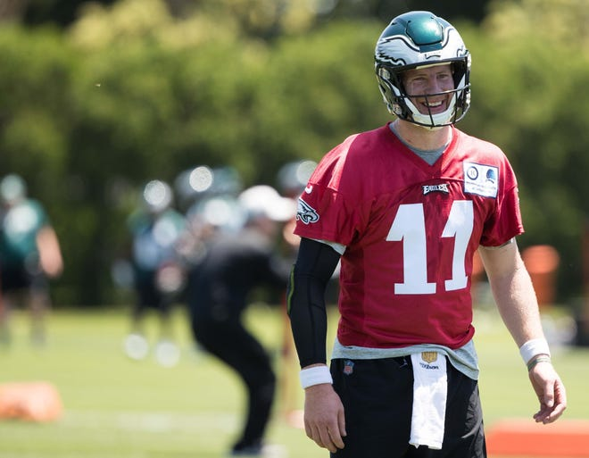 Carson Wentz has maintained he hopes to play Week 1.