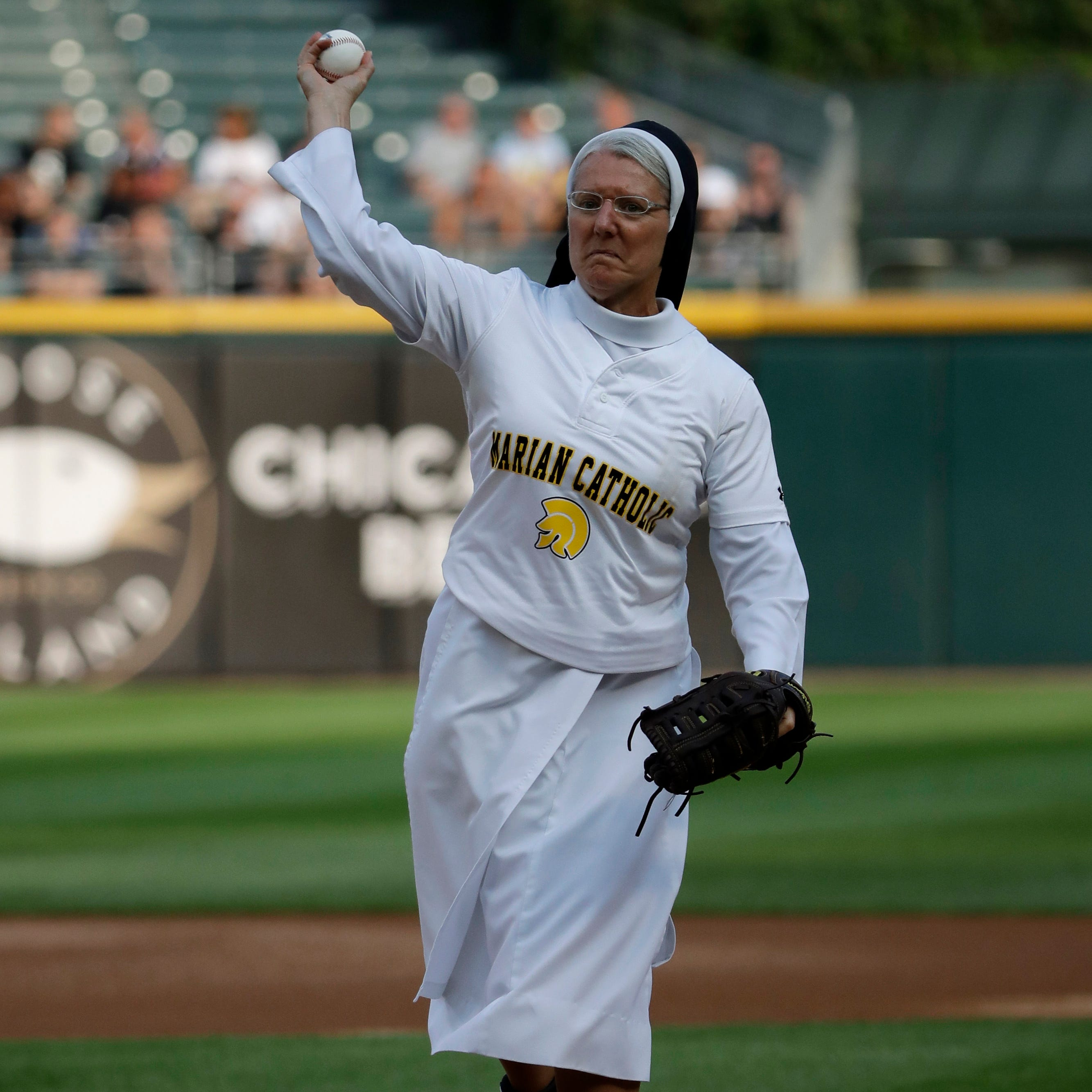 Bobblehead to honor nun from St. Cloud whose first pitch lit up the sports world