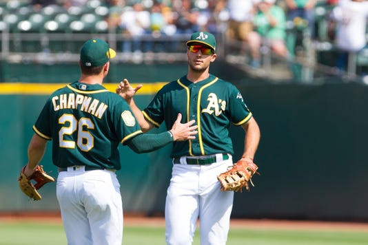 Mlb Houston Astros At Oakland Athletics