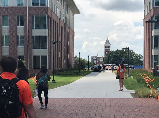 Douthit Hills, Clemson's newest student housing/student center facilities.