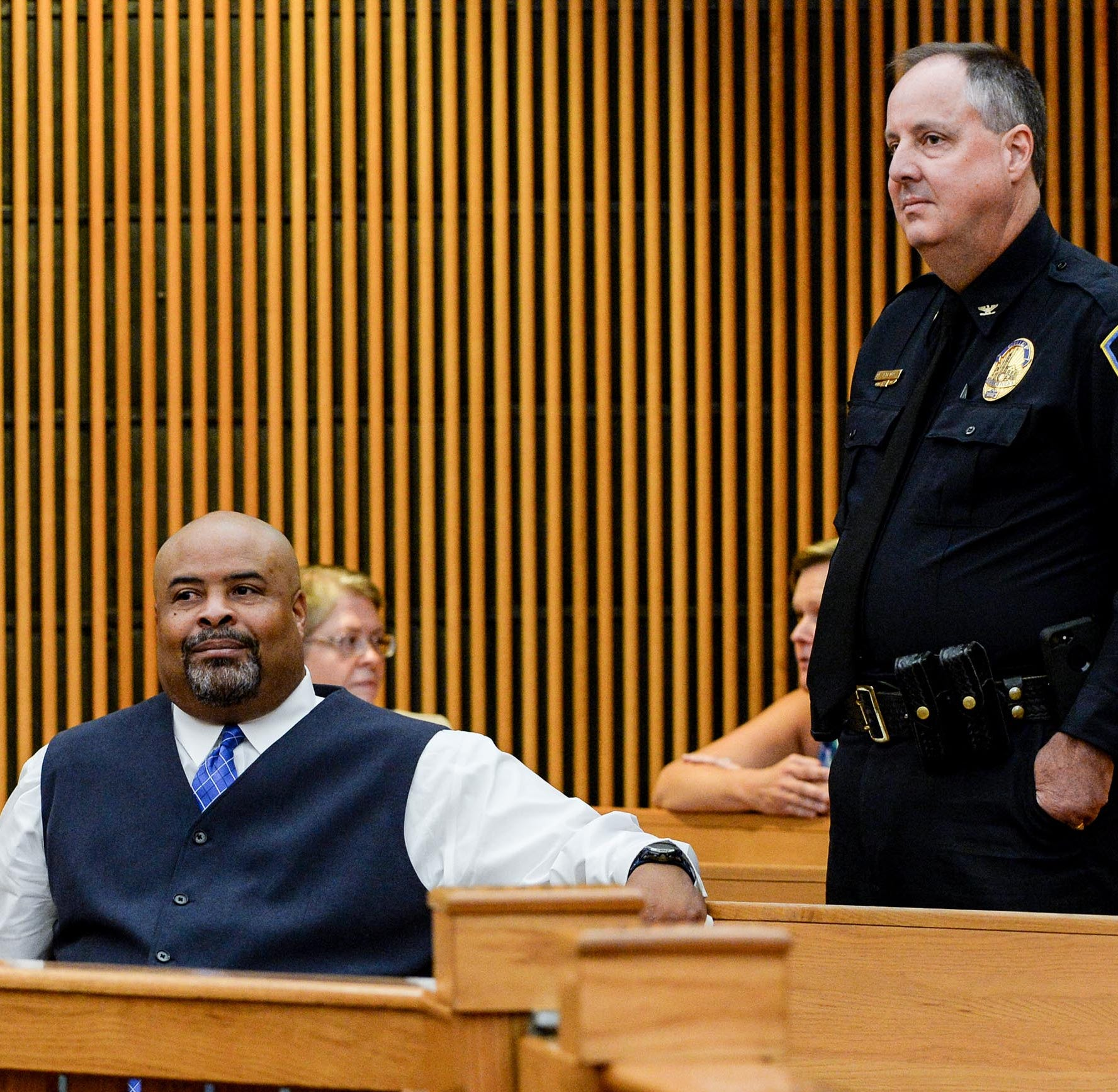 Case dismissed against ex-Anderson cop accused of butt grab; other defendants still talking