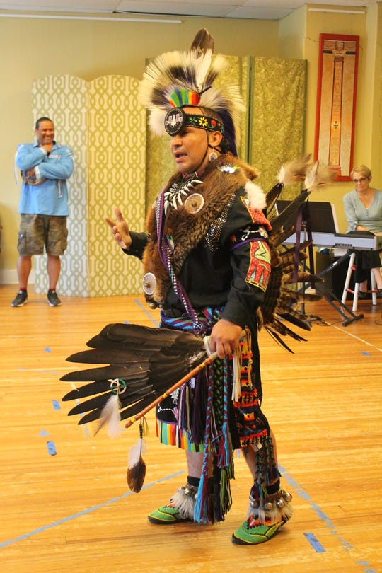 Participants learned about Native American dance as they prepared for the opera.