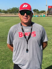 Ballinger football coach Chuck Lipsey