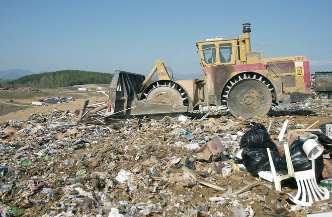 The Buncombe County Landfill has an estimated 25-30 years left before it is filled to capacity, county officials say.