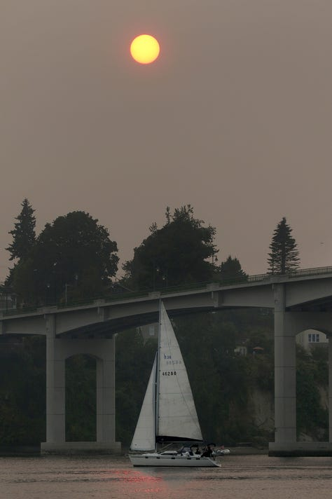 Sailboat Smoke