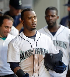 Jean Segura was back with the Mariners on Monday after missing three games while on paternity leave.