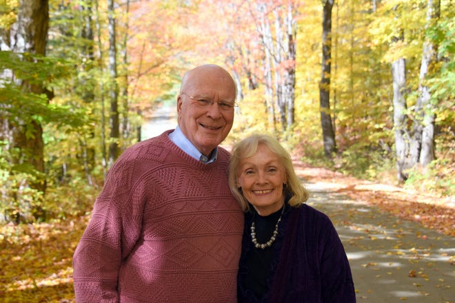 Senator Patrick Leahy of Vermont and his wife Marcelle