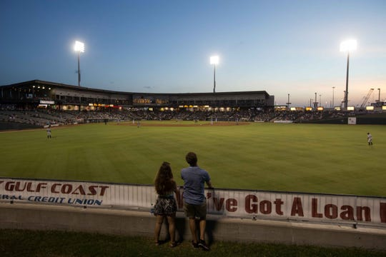 The Corpus Christi Hooks homestand will be from Aug. 21-27 at Whataburger Field, 734 E. Port Ave.