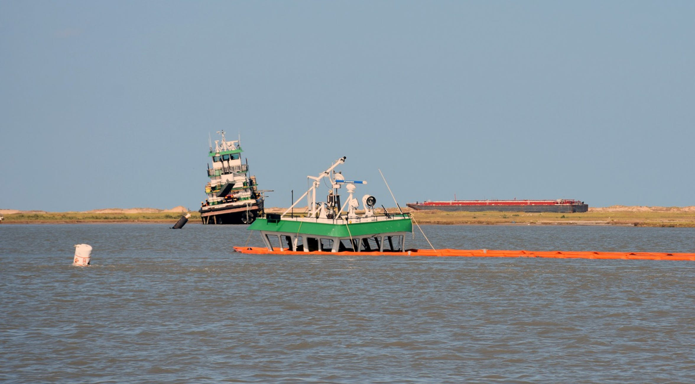 The Texas General Land Office pulled 110 vessels from Coastal Bend waters. The largest spill occurred when 40 gallons of fuel leaked into the Corpus Christi Ship Channel.