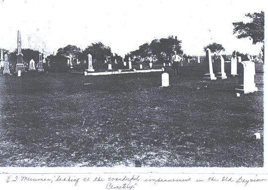 Eli T. Merrriman, a founder of the Corpus Christi Caller, began advocating for protection Old Bayview Cemetery in the late 19th century.
