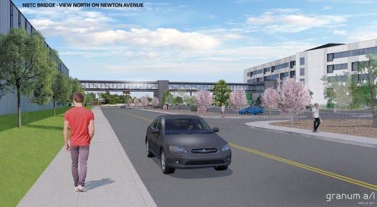 Subaru of America builds pedestrian bridge at Camden campus