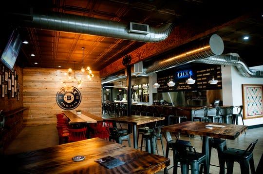 Brink Brewing Company's interior and taproom.