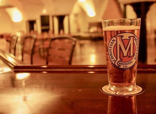 Christian Moerlein Brewing Company beer.