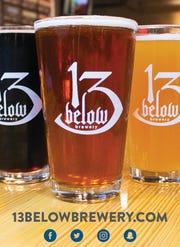 13 Below beer