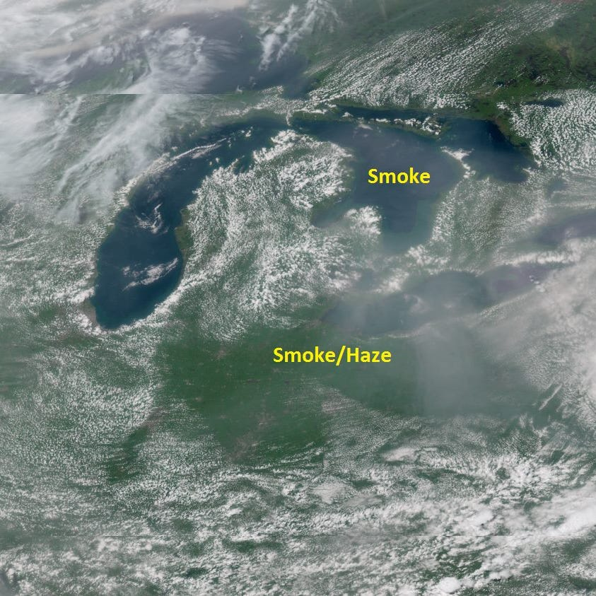 Smoke from California wildfires is reaching Ohio