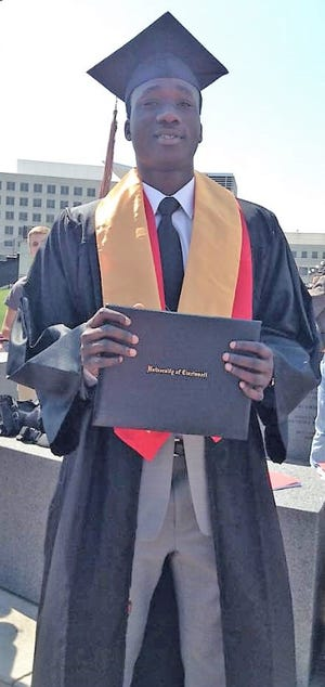 A search is underway for Temitayo Afolabi, 25. The University of Cincinnati graduate was last seen in Forest Park Friday.
