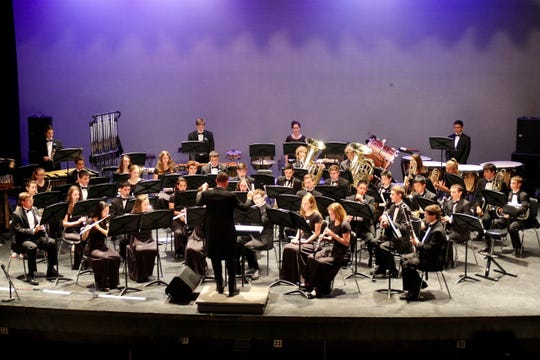 """The Westfield High School Wind Ensemble will perform at the Music for All National Concert Band Festival in Indianapolis in March 2019.  """"This festival is among the most prestigious in the country for high school bands,"""" says band director Christopher Vitale.  """"Being selected is an extremely high honor."""""""