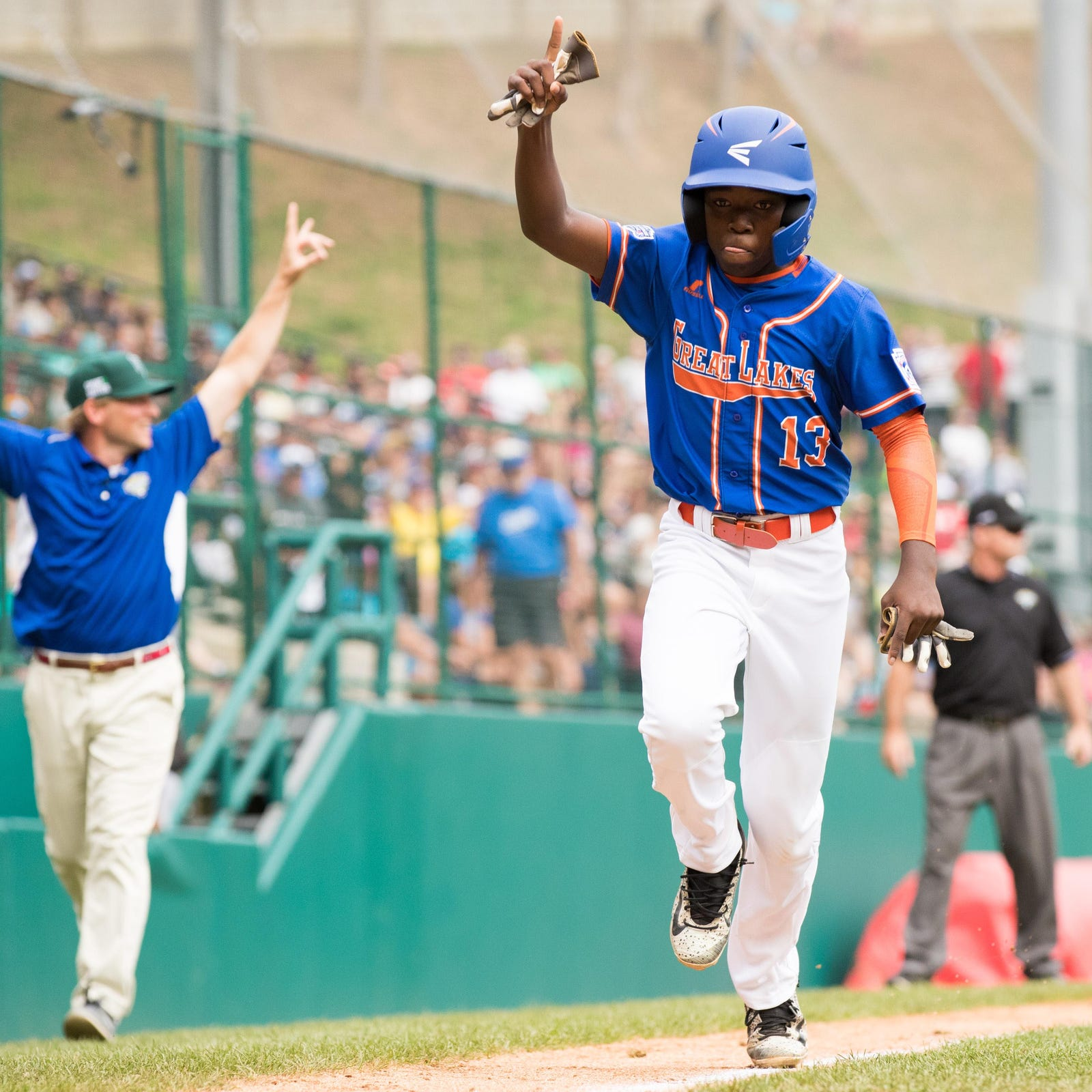 Little League World Series score: Grosse Pointe Woods-Shores vs. Georgia