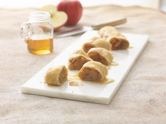 Caramelized Apple Strudel