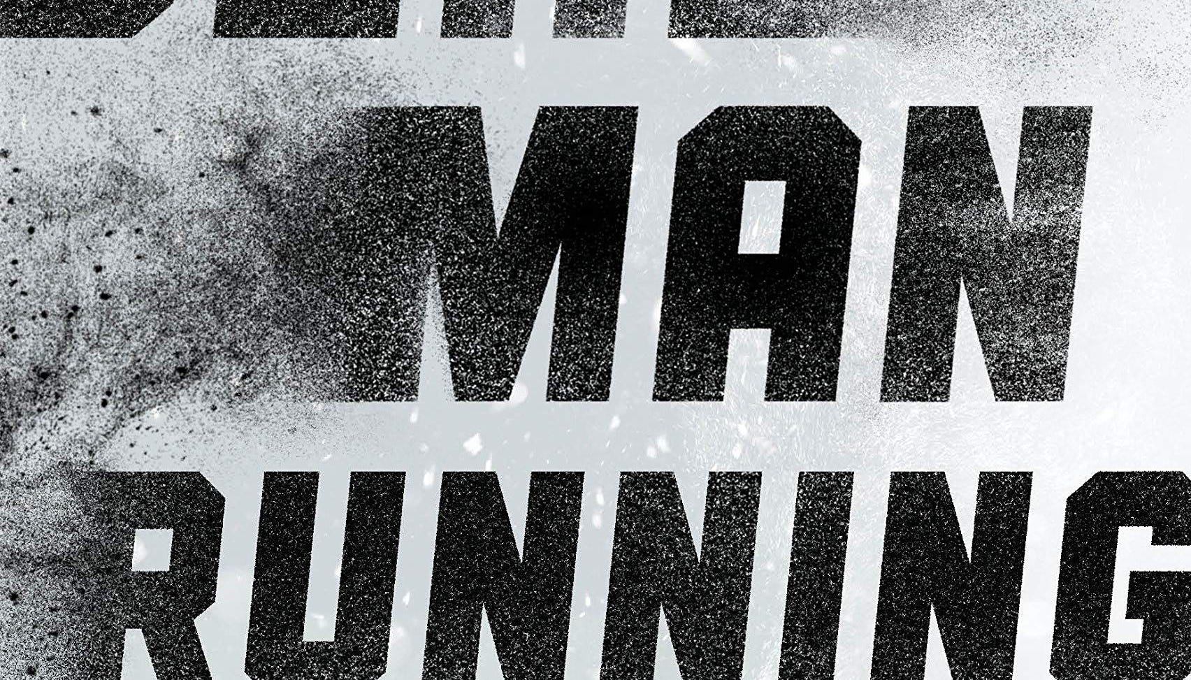 'Dead Man Running' cover for Alex McKnight mystery novel by author Steve Hamilton