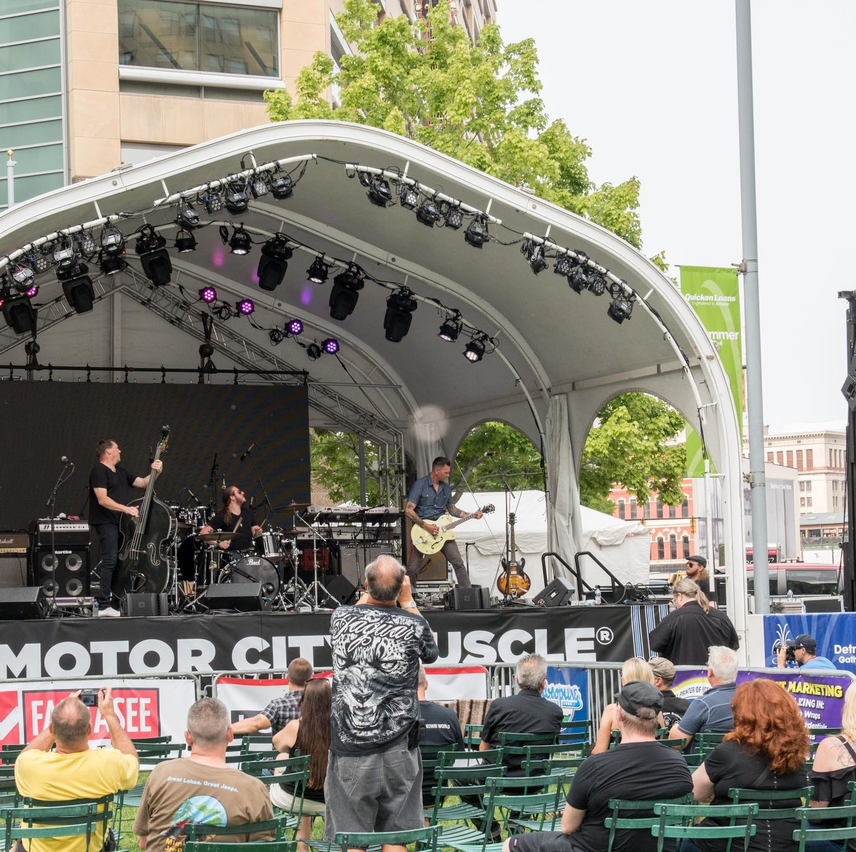 Motor City Muscle wraps up with good tunes, light crowds in Detroit