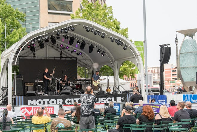 Motor City Muscle closed out its debut at Hart Plaza and Campus Martius Park on Sunday, Aug. 19, 2018.