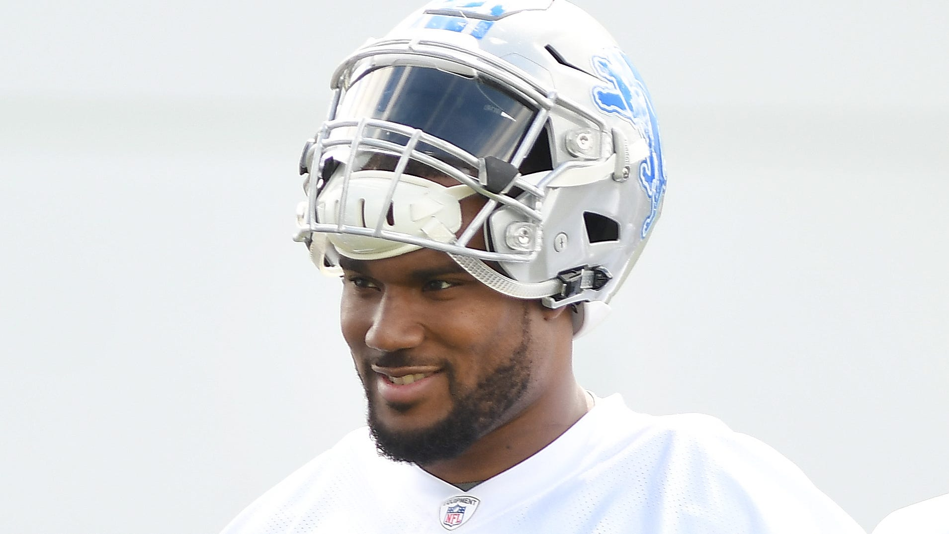 The Lions cut defensive end Cornelius Washington on Monday.