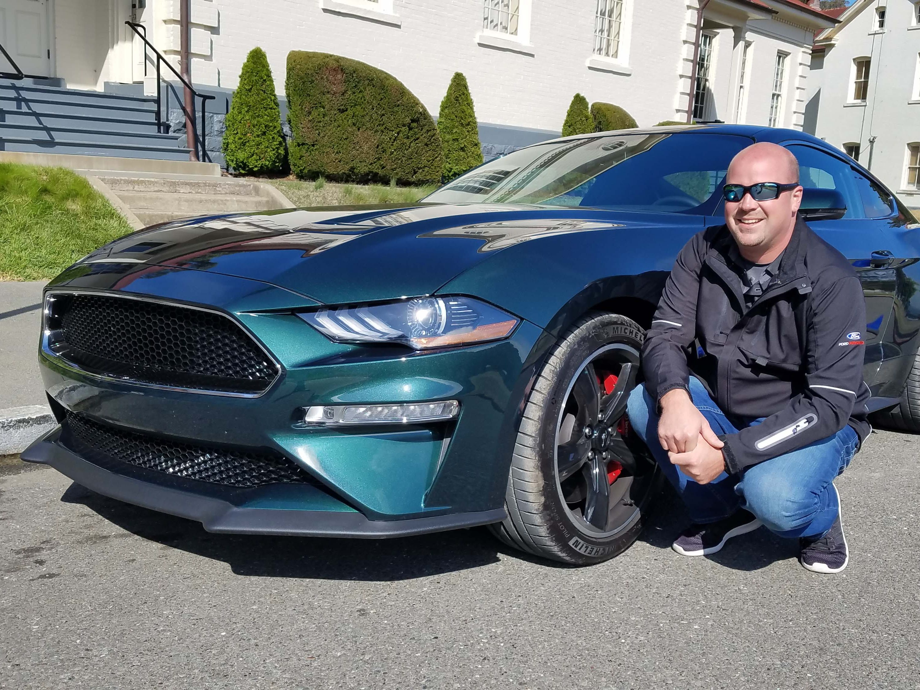 Sean Kiernan owns the original, 1968 Mustang Bullitt that starred in the movie of the same name. Kiernan is also adding a 2019 Ford Mustang Bullitt to his stable of pony cars.