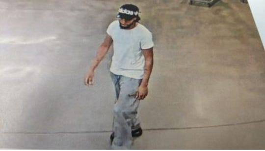 This is the third of three suspects who tried a smash and grab at the jewelry counter of a Costco store in Madison Heights, according to police.