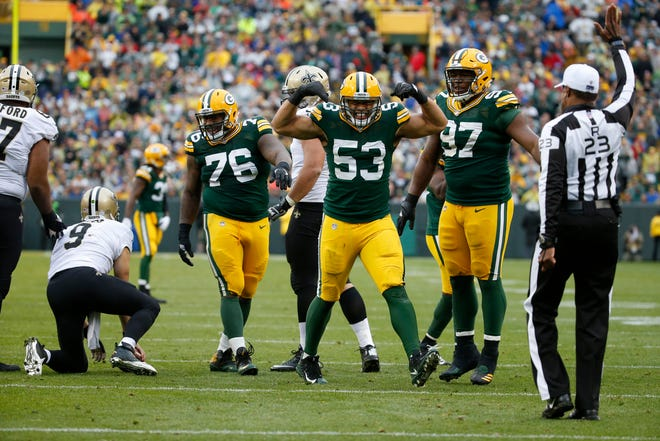 Green Bay Packers linebacker Nick Perry