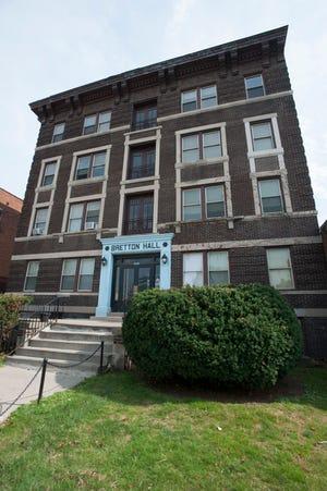 Bretton Hall apartment building.