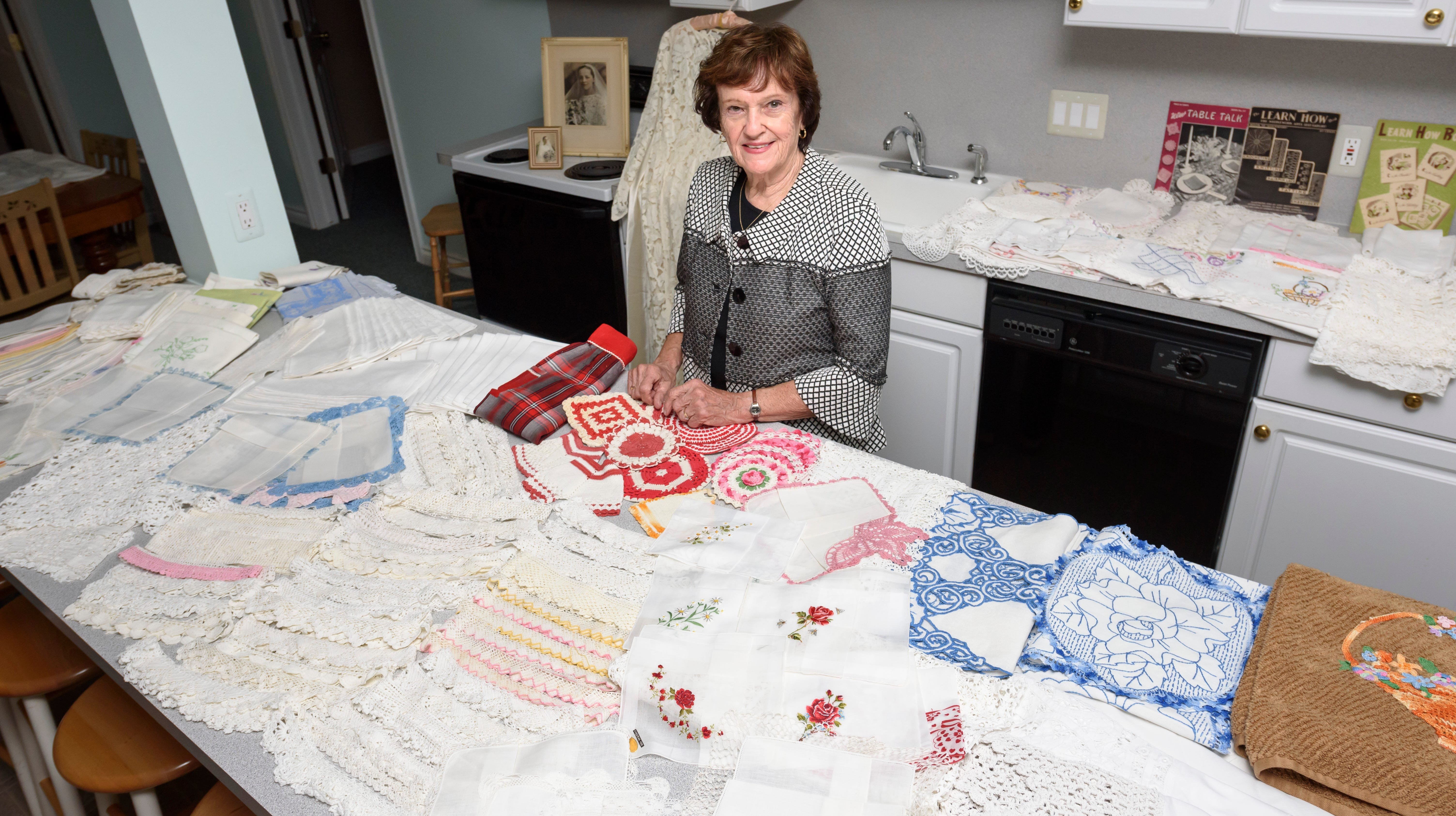 Handmade: Downsizing and letting go of family heirlooms