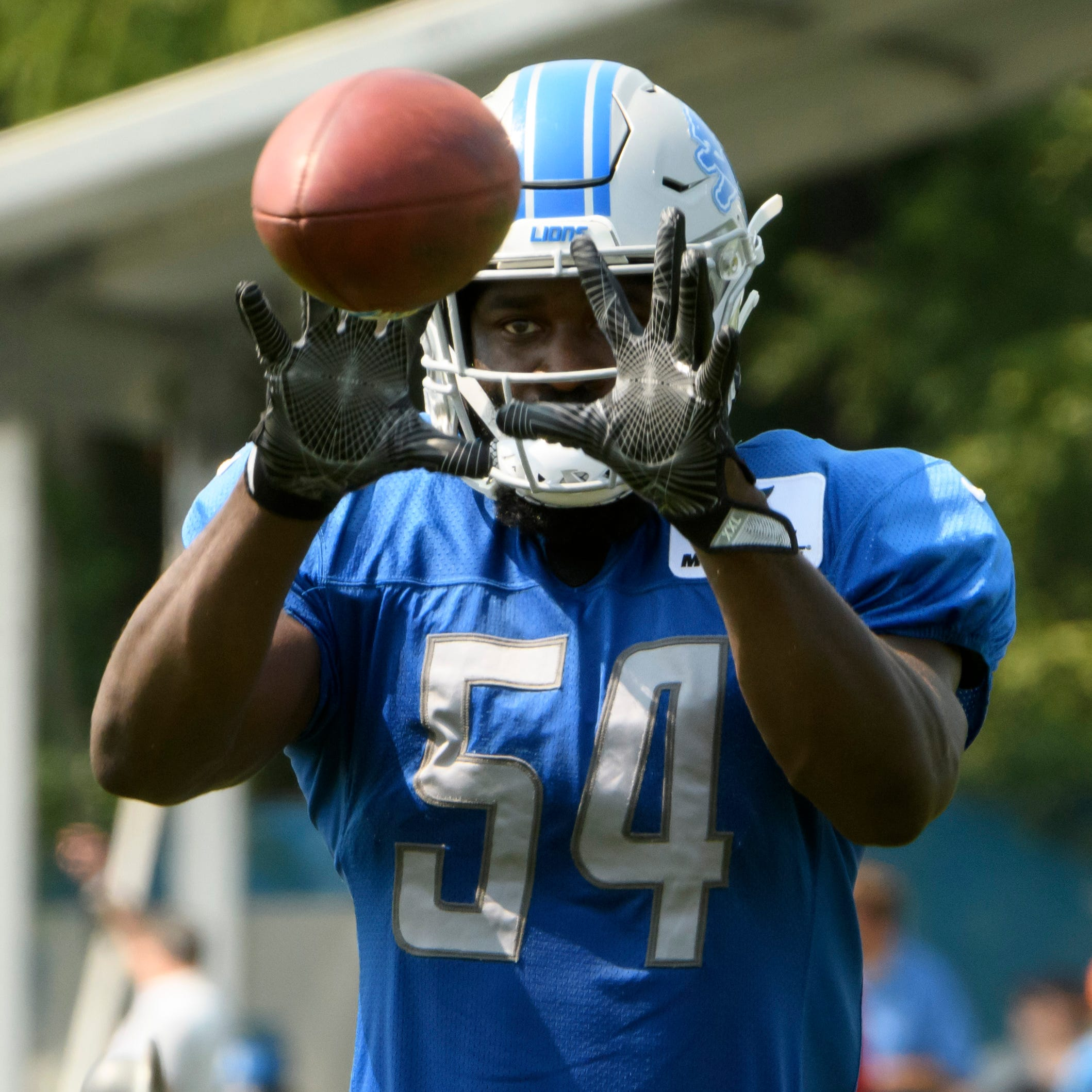 Lions LB Steve Longa lost for season, Matt Patricia confirms