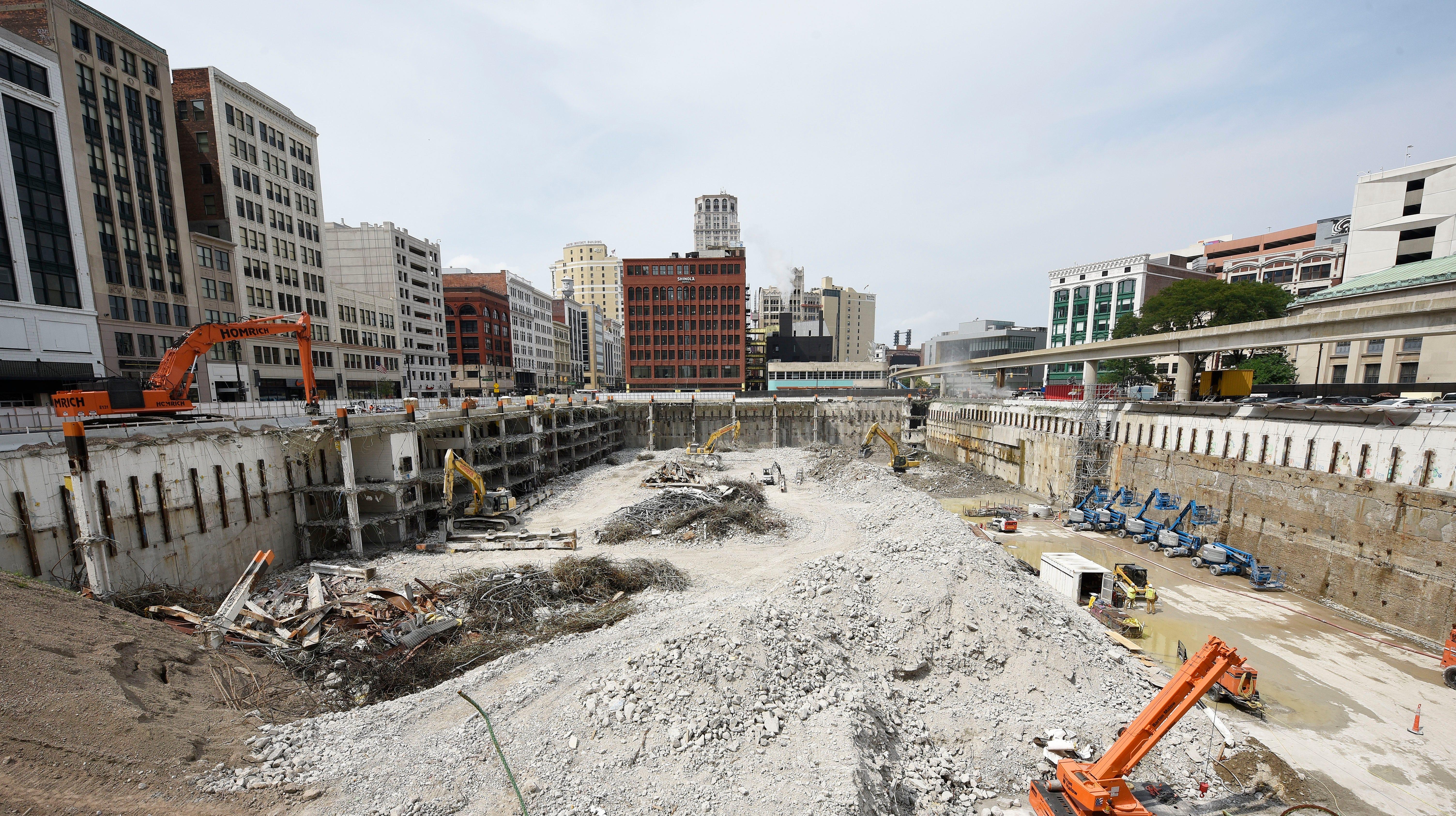 Downtown development fuels Detroit's recovery