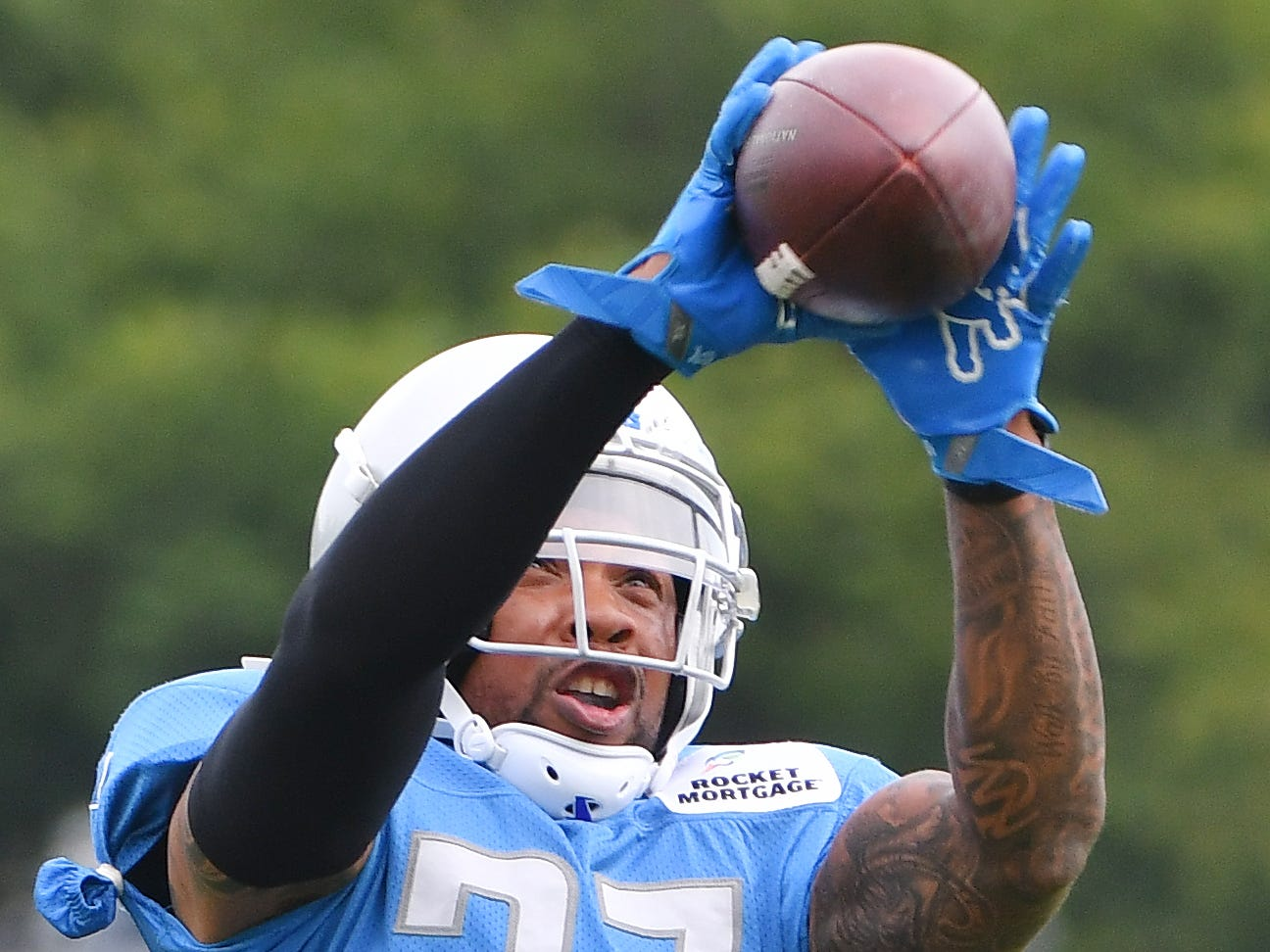Lions safety Glover Quin is entering his sixth season in Detroit.