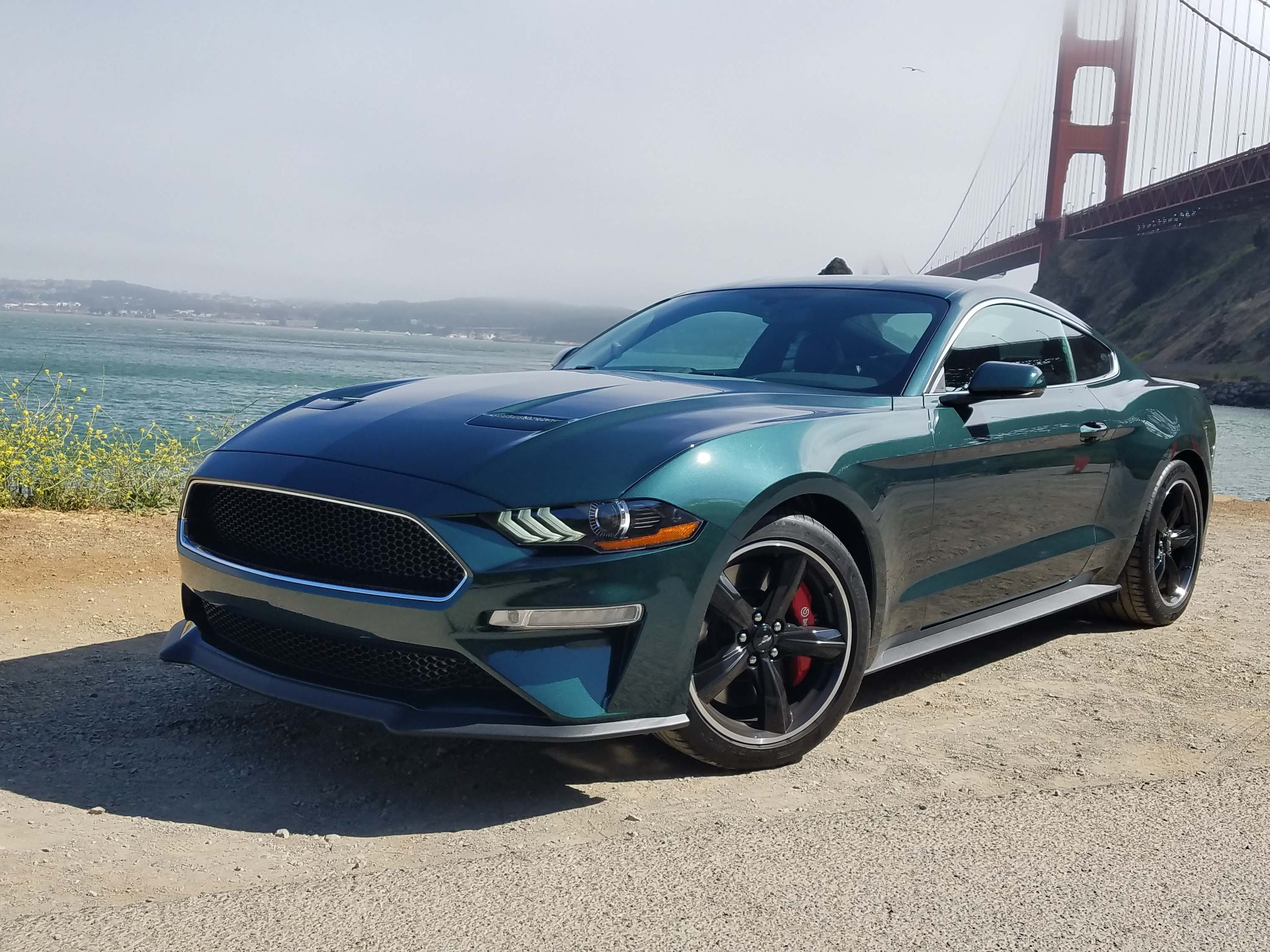 """The 2019 Ford Mustang Bullitt is the third special edition 'Stang made in commemoration of the Highland Green, 1968 car that starred in the movei """"Bullitt."""""""