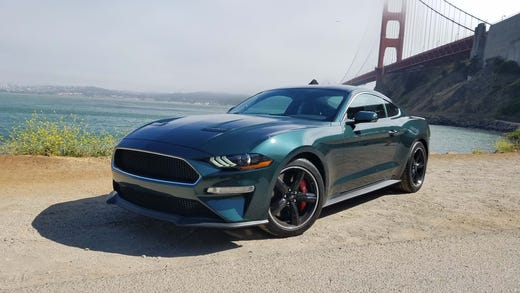 "The 2019 Ford Mustang Bullitt is the third special edition 'Stang made in commemoration of the Highland Green, 1968 car that starred in the movei ""Bullitt."""