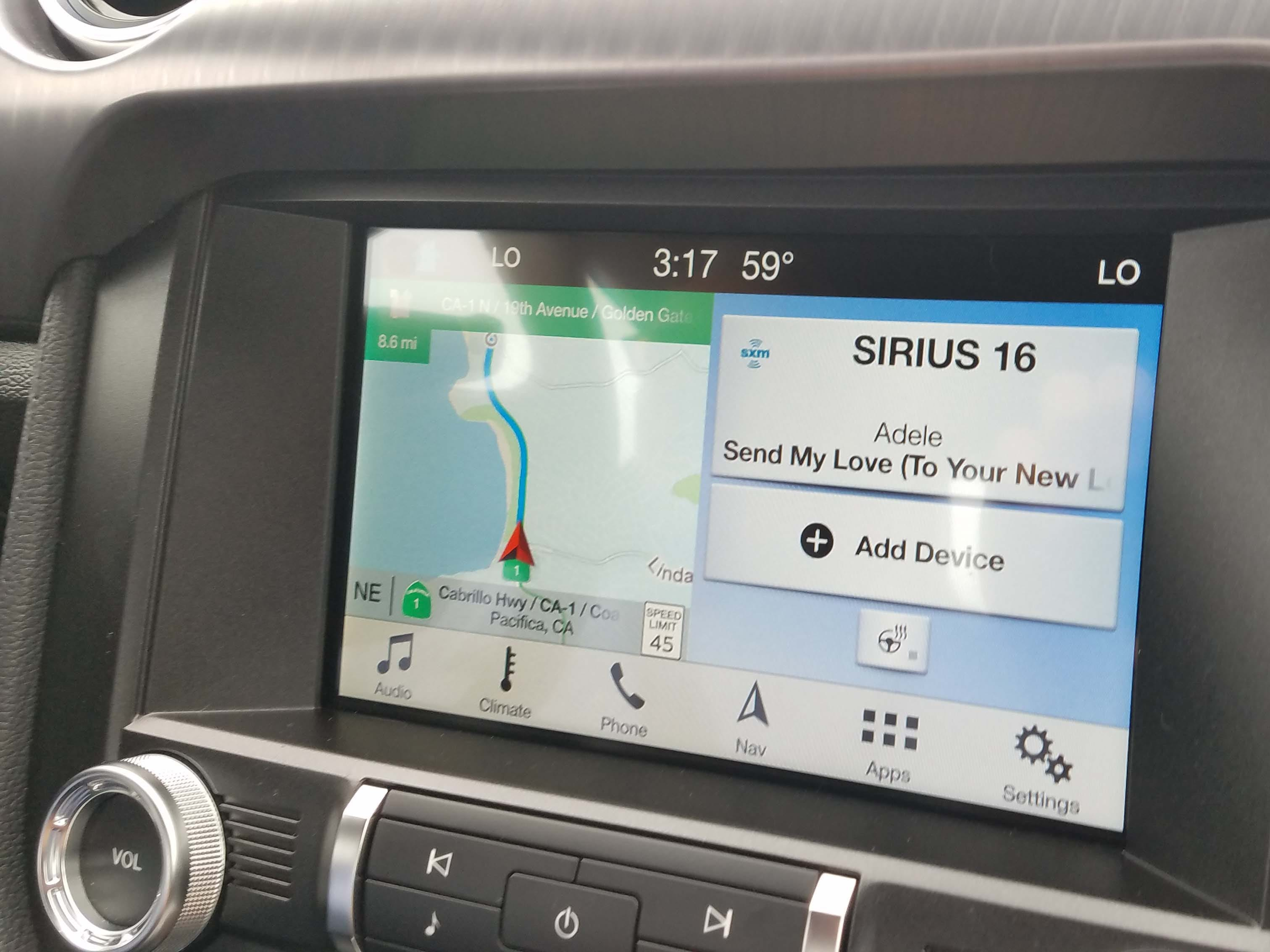 The 2019 Ford Mustang Bullitt has amenities that the '68 movie car could only dream of, like standard smartphone connectivity and available Sirius XM satellite radio.