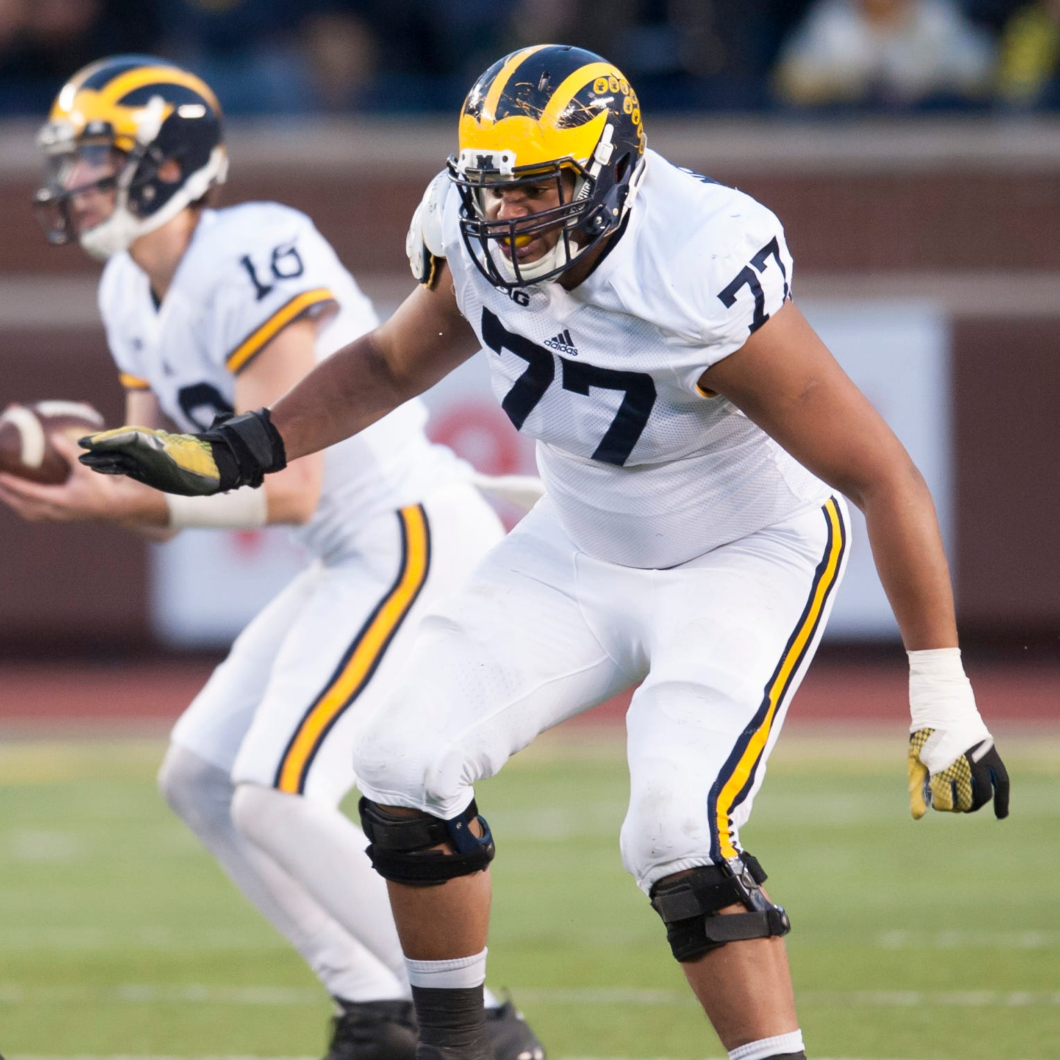 'Totality of injury too much,' Michigan's Grant Newsome retires from football